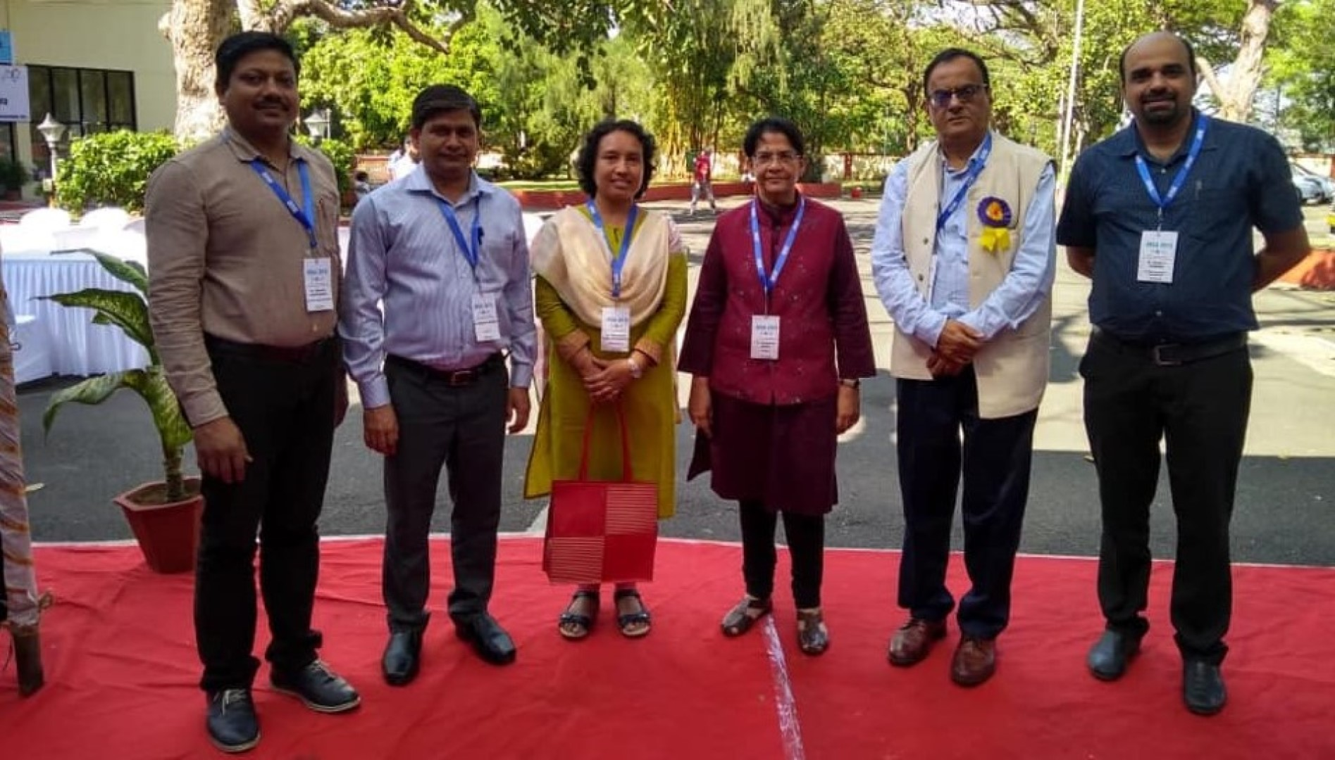 INYAS CC and Members with INSA President and Elected President during INSA AGM (Dec. 2019)